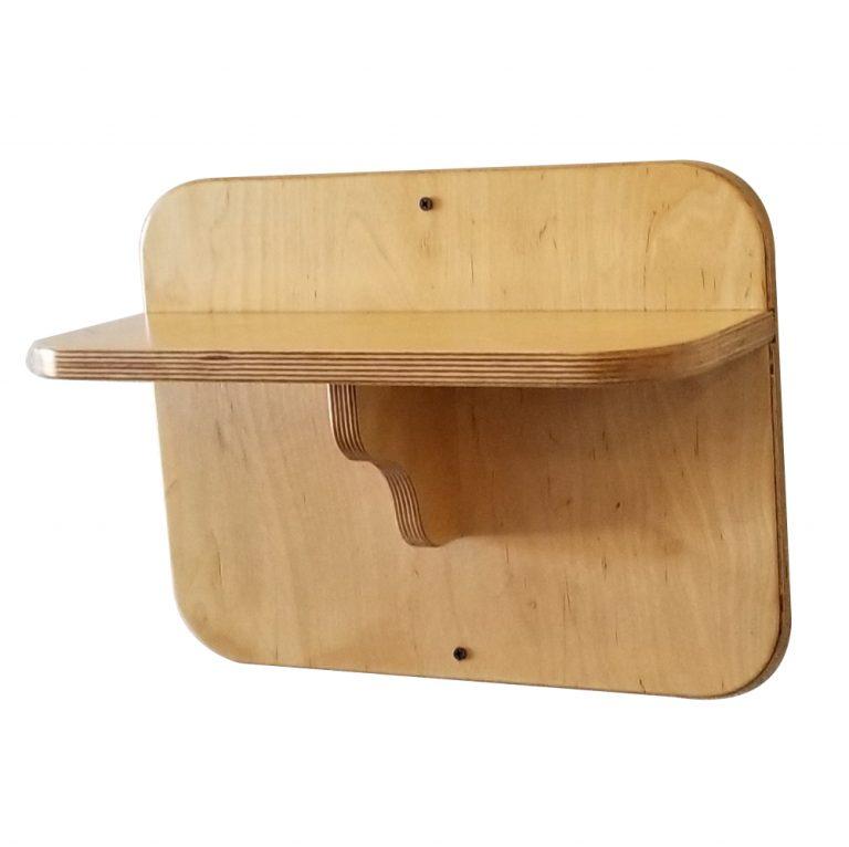 """16"""" Gym Accessory Shelf - DIY Attachments"""