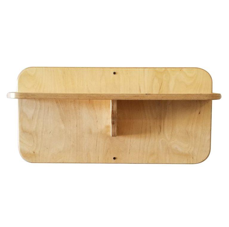 """24"""" Gym Accessory Shelf - DIY Attachments"""