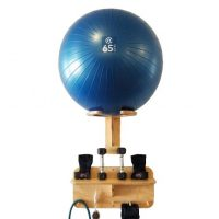 "Exercise Ball Rack, 24"" Accessory Shelf - Spork Setup"